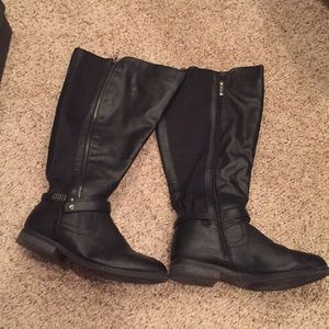 Shoes - Lane Bryant 11w black riding boots